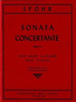 Sonata concertante op. 115 SPOHR Partition 0 - laflutedepan