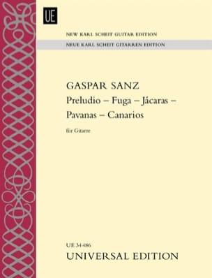 Preludio-Fuga-Jacaras-Pavanas-Canarios Gaspar Sanz laflutedepan