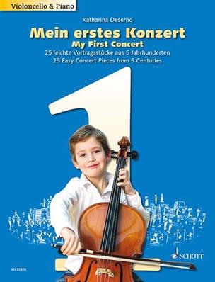 My FIrst Concert - Violoncelle et piano Partition laflutedepan