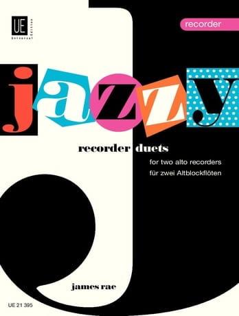 Jazzy recorder Duets - James Rae - Partition - laflutedepan.com