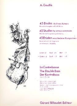 45 Etudes de divers auteurs, Volume 2 A. Gouffé Partition laflutedepan