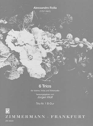 6 Trios - Nr. 1 B-Dur - Partitur + Stimmen laflutedepan