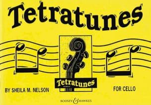 Tetratunes - Cello Sheila M. Nelson Partition laflutedepan