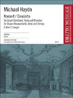 Konzert C-Dur f. Orgel, Viola Str. - Partitur laflutedepan