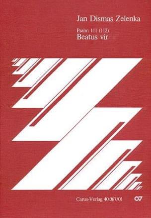 Beatus vir - ZELENKA - Partition - Grand format - laflutedepan.com
