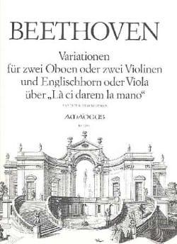 BEETHOVEN - Variationen über The ci darem the mano - 2 Oben Englischhorn - Partition - di-arezzo.co.uk