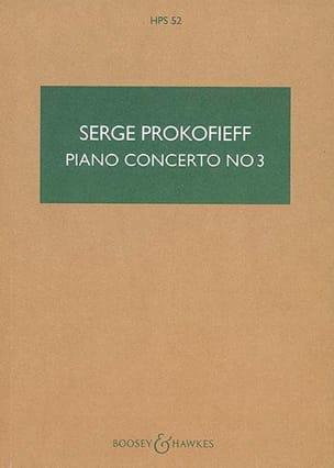 Serge Prokofiev - Piano Concerto No. 3 Op. 26 - Partition - di-arezzo.co.uk