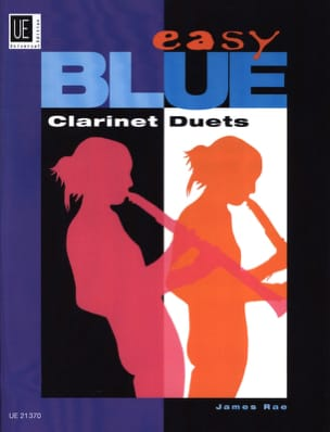 Easy Blue Clarinet Duets James Rae Partition Clarinette - laflutedepan