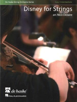 Disney for Strings - score & parts DISNEY Partition laflutedepan