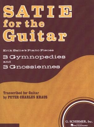 Satie for the Guitar SATIE Partition Guitare - laflutedepan
