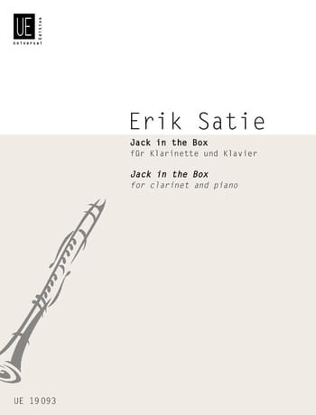 Jack in the Box - SATIE - Partition - Clarinette - laflutedepan.com