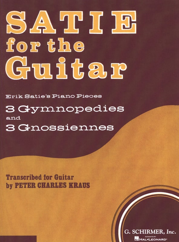 Satie for the Guitar - SATIE - Partition - Guitare - laflutedepan.com
