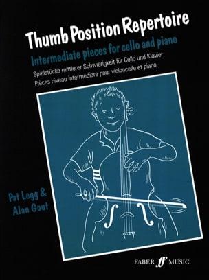 Thumb position repertoire Legg Pat / Gout Alan Partition laflutedepan