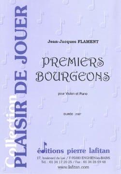 Premiers Bourgeons Jean-Jacques Flament Partition laflutedepan