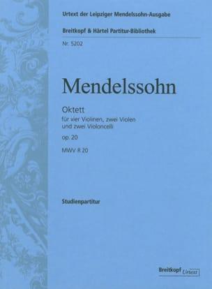 Octuor op. 20 -Conducteur MENDELSSOHN Partition laflutedepan