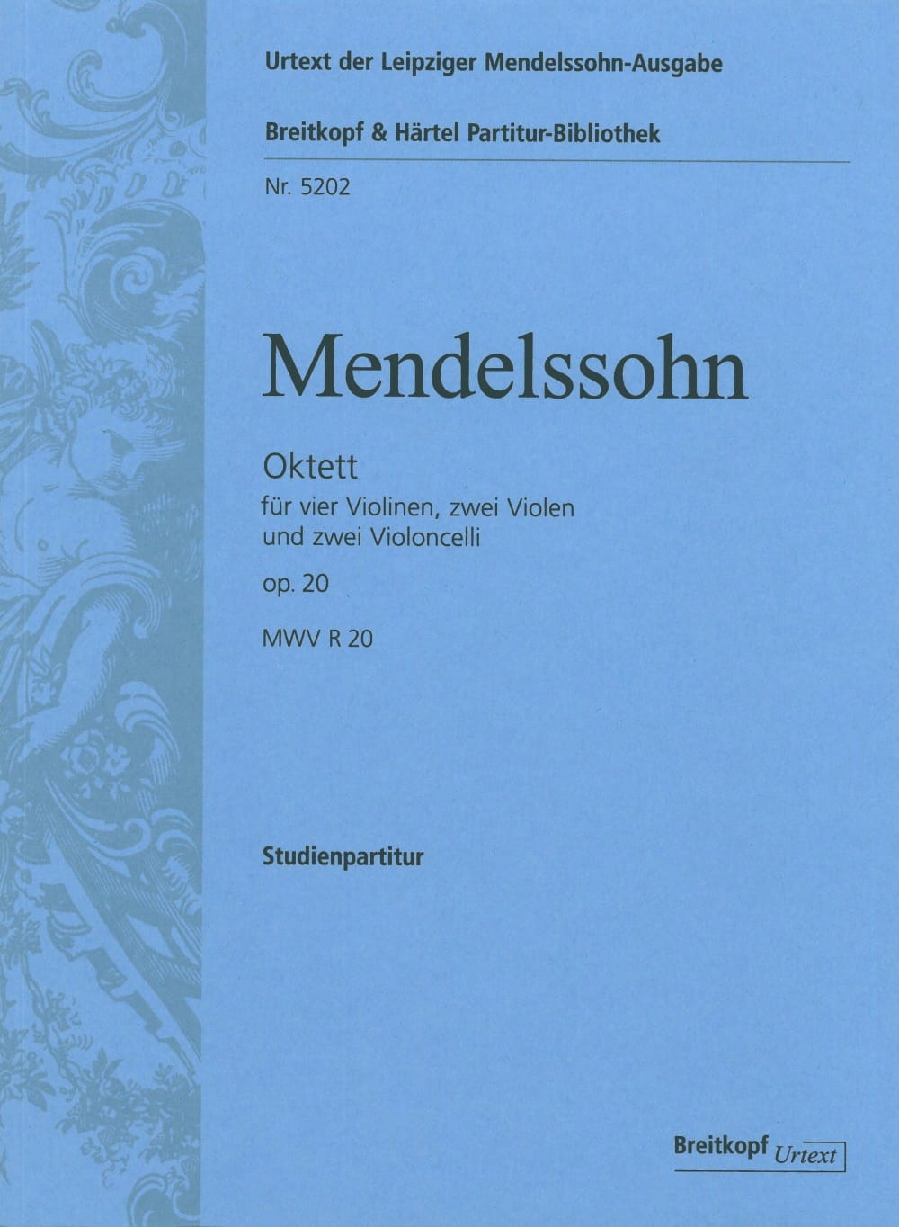 Octuor op. 20 -Conducteur - MENDELSSOHN - laflutedepan.com