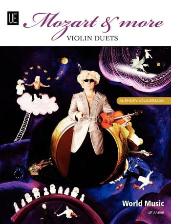 Mozart and more - Violin duets - Aleksey Igudesman - laflutedepan.com