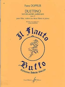 Duettino sur des motifs américains op. 37 Franz Doppler laflutedepan