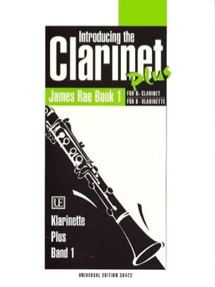 Introducing the clarinet plus - Book 1 James Rae laflutedepan
