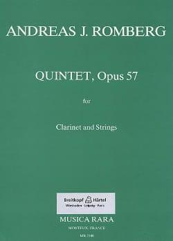 Quintet op. 57 - Clarinet Strings Andreas J. Romberg laflutedepan
