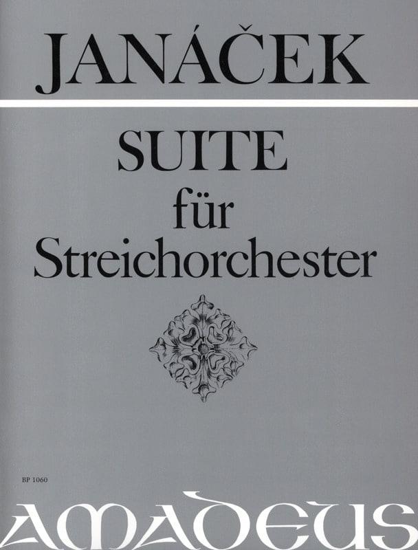 Suite für Streichorchester - Partitur - JANACEK - laflutedepan.com