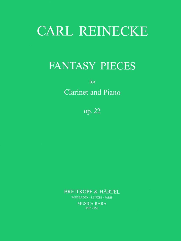Fantasiestücke op. 22 - Carl Reinecke - Partition - laflutedepan.com