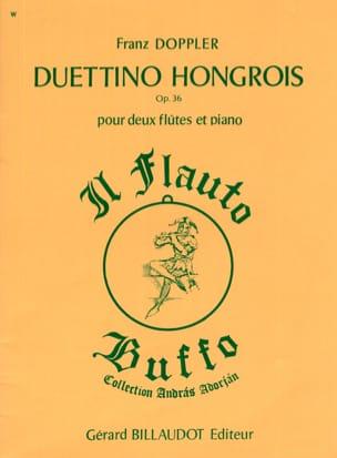 Duettino sur des motifs hongrois op. 36 Franz Doppler laflutedepan