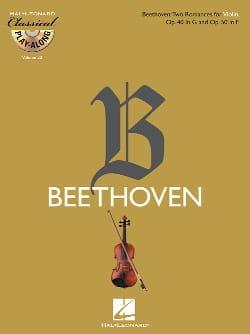 2 Romances Op.40 & 50 BEETHOVEN Partition Violon - laflutedepan