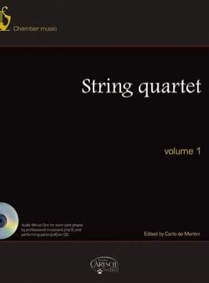 Quatuors A Cordes, Volume 1 - Partition - laflutedepan.com