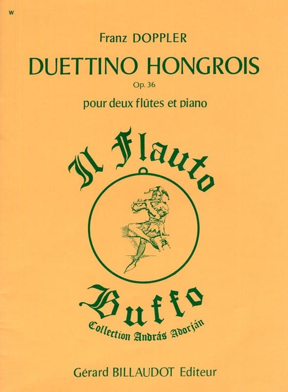 Duettino sur des motifs hongrois op. 36 - laflutedepan.com