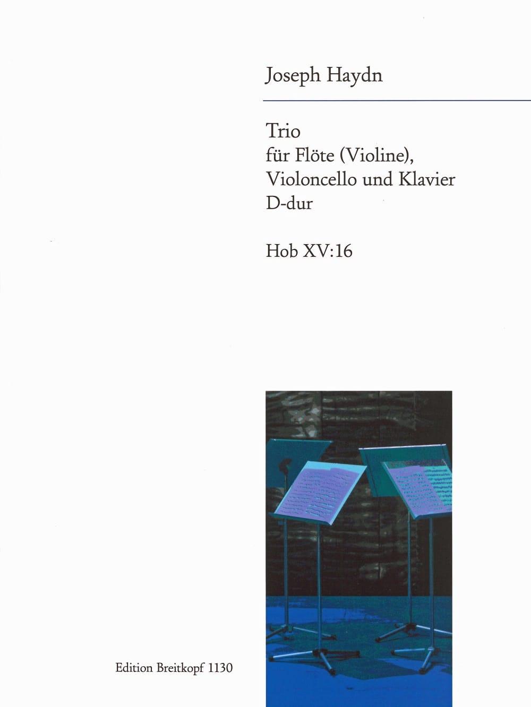 Trio D-Dur Hob. 15 n° 16 -Flöte Violine, Violoncello u. Klavier - laflutedepan.com