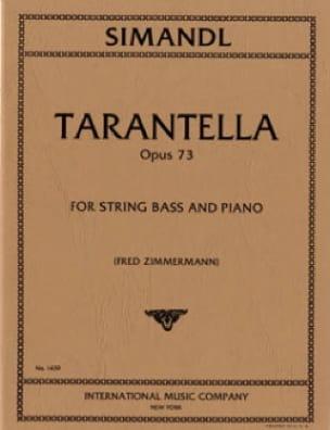 Tarantella op. 73 - Franz Simandl - Partition - laflutedepan.com