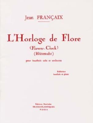 L' Horloge de Flore - Hautbois et piano - FRANÇAIX - laflutedepan.com