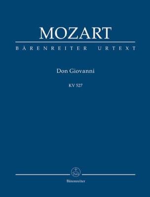 Don Giovanni - Partitur MOZART Partition Petit format - laflutedepan
