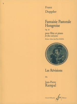 Fantaisie pastorale hongroise op. 26 Franz Doppler laflutedepan