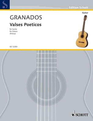 Enrique Granados - Valses Poeticos - Partition - di-arezzo.de