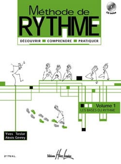Teslar Yves / Gevrey Alexis - Rhythmusmethode Band 1 - Partition - di-arezzo.de