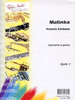 Malinka Francis Coiteux Partition Clarinette - laflutedepan
