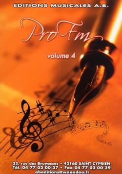 Pro FM Volume 4 Partition Solfèges - laflutedepan