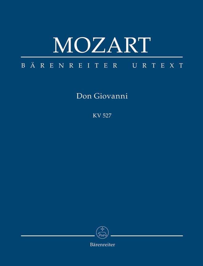 Don Giovanni - Partitur - MOZART - Partition - laflutedepan.com