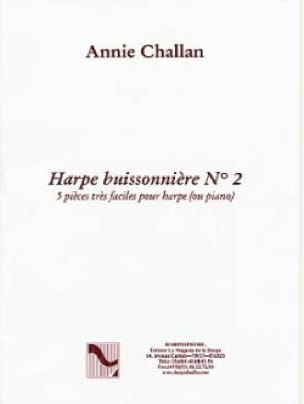 La Harpe Buissonnière N° 2 - Annie Challan - laflutedepan.com
