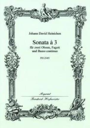 Sonate A 3 - HEINICHEN - Partition - laflutedepan.com