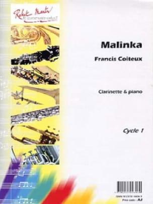 Malinka - Francis Coiteux - Partition - Clarinette - laflutedepan.com