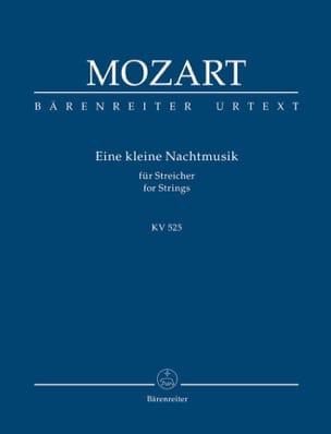 Eine kleine Nachtmusik KV 525 - Partitur MOZART Partition laflutedepan