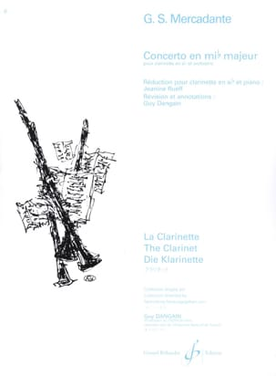 Concerto en Mib Majeur Saverio Mercadante Partition laflutedepan