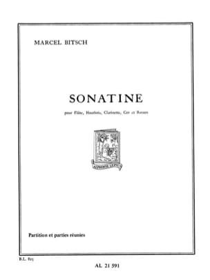 Sonatine Marcel Bitsch Partition Quintettes - laflutedepan