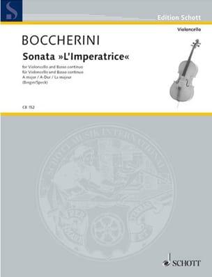 BOCCHERINI - Sonata The Empress in A Major G. deest - Partition - di-arezzo.co.uk