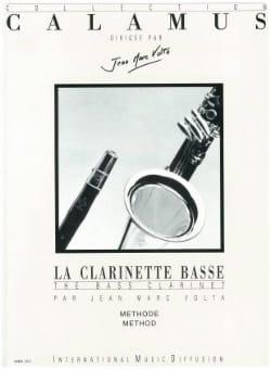 La clarinette basse - Méthode Jean-Marc Volta Partition laflutedepan