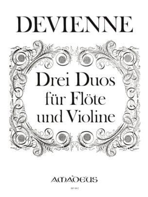 François Devienne - 3 Duos - Partition - di-arezzo.com