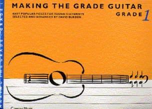 Making the grade Guitar - Grade 1 - David Burden - laflutedepan.com